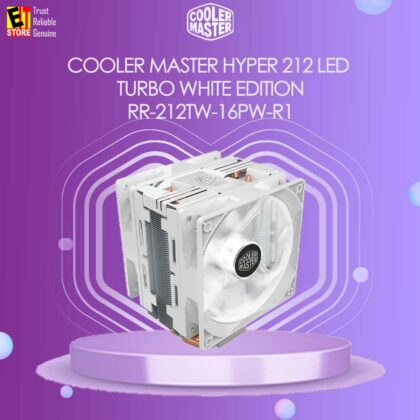 COOLER MASTER HYPER 212 LED TURBO WHITE EDITION (RR-212TW-16PW-R1)