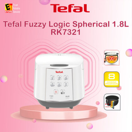 TEFAL FUZZY LOGIC RICE COOKER 1.8L 10 CUPS RK7321