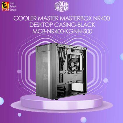 COOLER MASTER MASTERBOX NR400 DESKTOP CASING-BLACK (MCB-NR400-KGNN-S00)