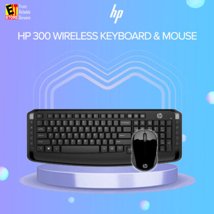 HP 300 Wireless Keyboard & Mouse Combo A/P 1 Year HP Onsite Warranty