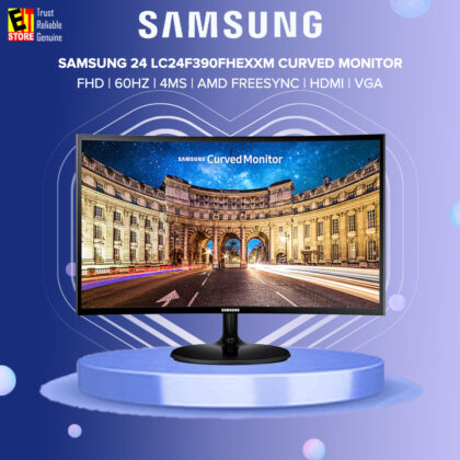 Samsung 24 LC24F390 LC24F390FHEXXM 4ms 60HZ AMD Freesync HDMI VGA Curved Monitor