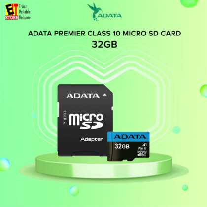 ADATA PREMIER MICRO SD / MICROSDXC 32GB UHS-I CLASS10 RETAIL WITH ADAPTER Memory Card