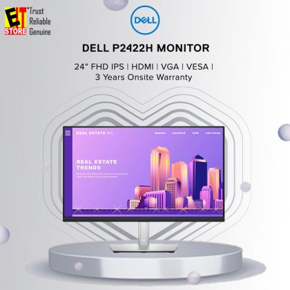 Dell 24 P2422H FHD IPS 60Hz 8MS Monitor